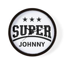 Super Johnny Wall Clock
