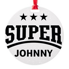 Super Johnny Ornament