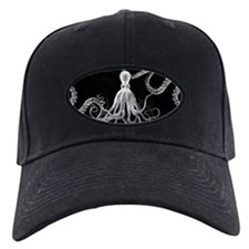 Vintage Octopus Dark Baseball Hat