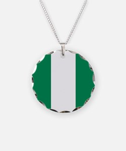 Flag of Nigeria Necklace