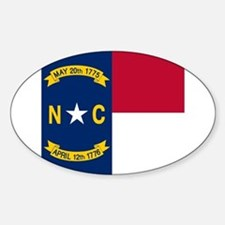 Flag of North Carolina Decal