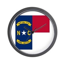 Flag of North Carolina Wall Clock