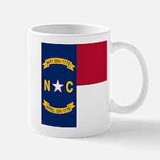 Flag of North Carolina Mugs