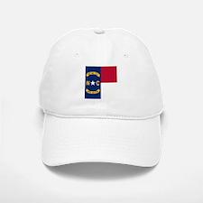 Flag of North Carolina Baseball Baseball Cap