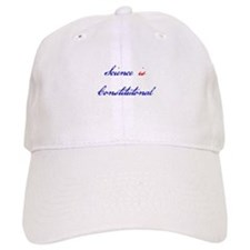 Science Is Constitutional Baseball Baseball Cap