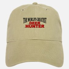 """The World's Greatest Deer Hunter"" Baseball Baseball Cap"