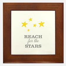 Reach For The Stars Framed Tile