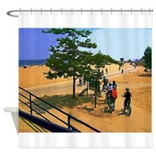Heading Out To The Lake Shower Curtain