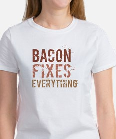 Bacon Fixes Everything Tee