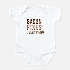 Bacon Fixes Everything Infant Bodysuit