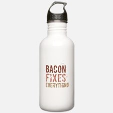 Bacon Fixes Everything Water Bottle