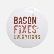 Bacon Fixes Everything Ornament (Round)