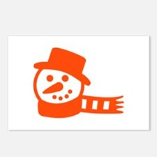 snowman Postcards (Package of 8)