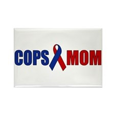 Cops Mom Rectangle Magnet