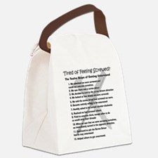 12 Steps for the Screwed Canvas Lunch Bag