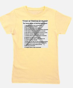12 Steps for the Screwed Girl's Tee