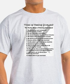 12 Steps for the Screwed T-Shirt