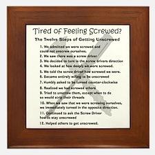12 Steps for the Screwed Framed Tile