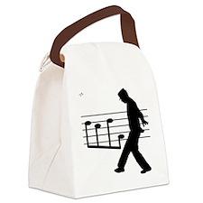 Music Man Canvas Lunch Bag