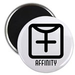 "Affinity : Female 2.25"" Magnet (100 pack)"