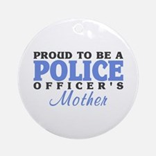 Officer's Mother Ornament (Round)