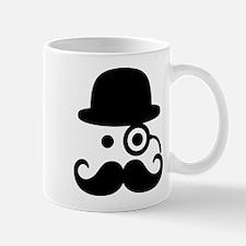 Smiley Mustache monocle Mug