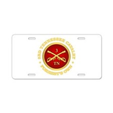 3rd Tennessee Cavalry Aluminum License Plate