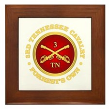 3rd Tennessee Cavalry Framed Tile
