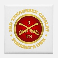 3rd Tennessee Cavalry Tile Coaster