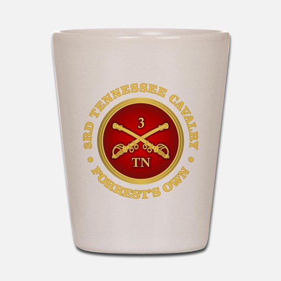 3rd Tennessee Cavalry Shot Glass