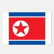Flag of North Korea Postcards (Package of 8)