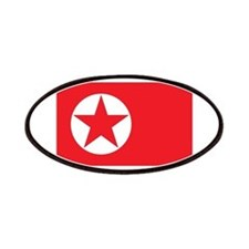 Flag of North Korea Patches