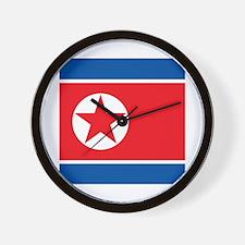 Flag of North Korea Wall Clock