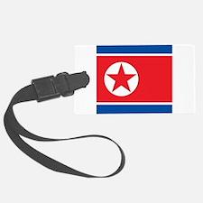 Flag of North Korea Luggage Tag
