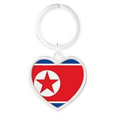 Flag of North Korea Keychains