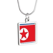 Flag of North Korea Necklaces