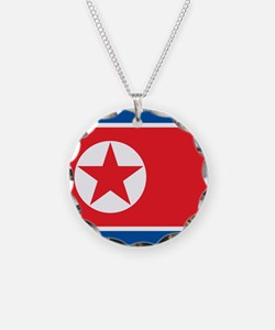 Flag of North Korea Necklace