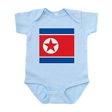 Flag of North Korea Body Suit