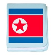 Flag of North Korea baby blanket