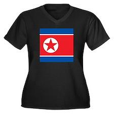 Flag of North Korea Plus Size T-Shirt