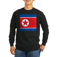 Flag of North Korea Long Sleeve T-Shirt