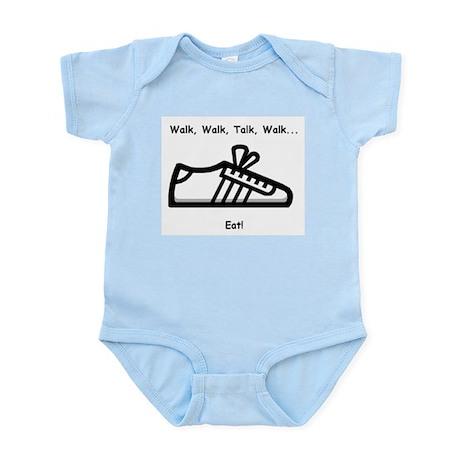 Walk, Talk, Eat Infant Bodysuit