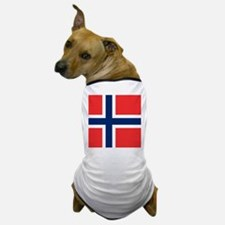 Flag of Norway Dog T-Shirt