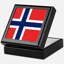 Flag of Norway Keepsake Box