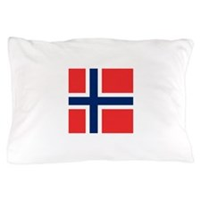 Flag of Norway Pillow Case