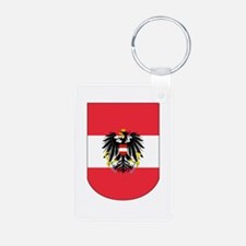 Austrian Coat of arms on Shield Keychains