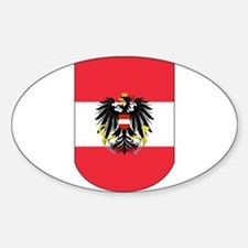 Austrian Coat of arms on Shield Decal