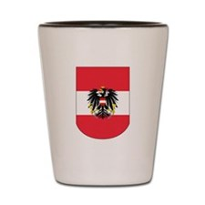 Austrian Coat of arms on Shield Shot Glass