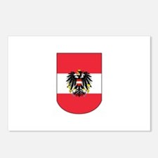 Austrian Coat of arms on Shield Postcards (Package