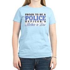 Proud Police Mother in Law T-Shirt